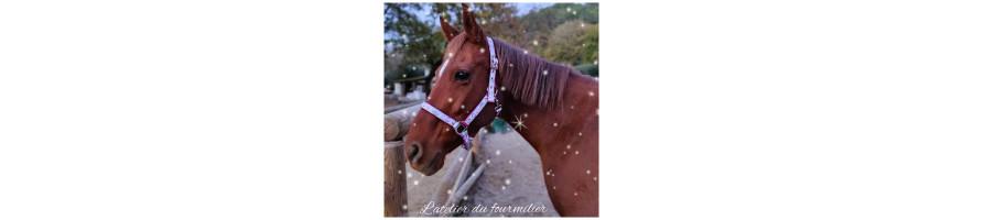 Licols pour chevaux personnalisable